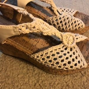 Shoes - Macrame wedges